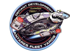 defiant badge