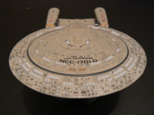 Touches of Awesome: Official Star Trek Enterprise-D Model