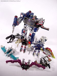 Soundwave and Friends Toys