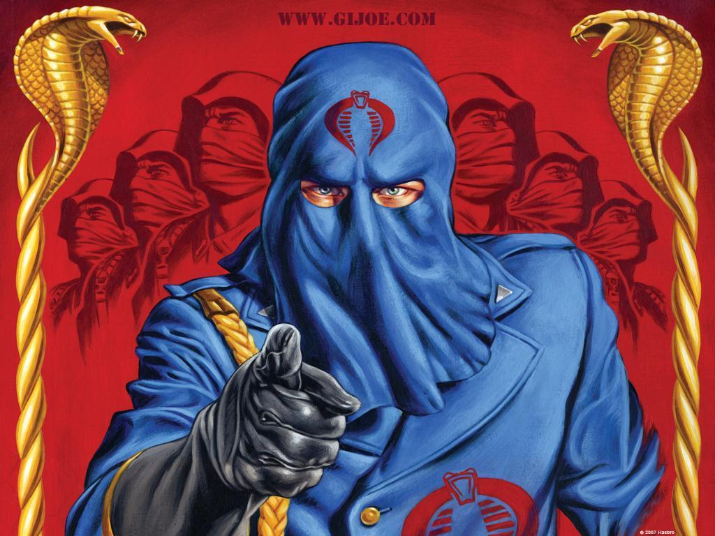 G I Joe Cartoon Characters : Cobra commander outright geekery