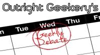 Geekly Debate Logo - Featured