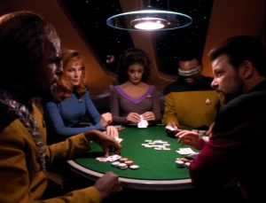 Trek Poker Game