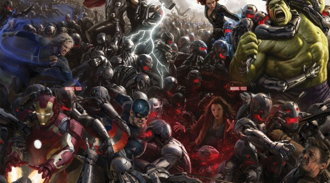 Marvel Shows Off Age of Ultron Movie Variants