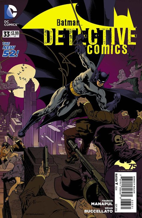 Detective Comics 33 Batman 75 variant