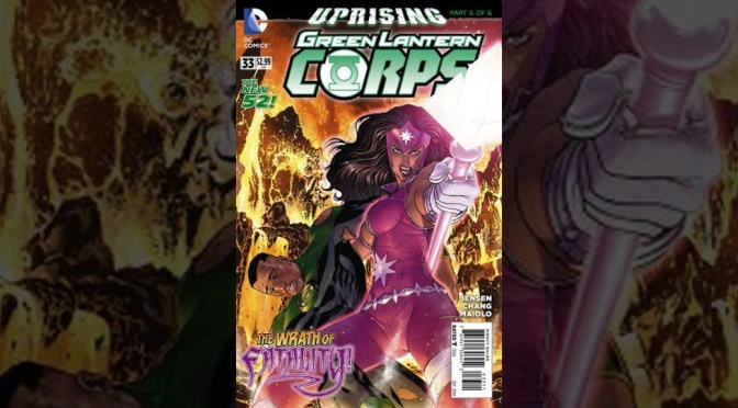 Review: Green Lantern Corps #33