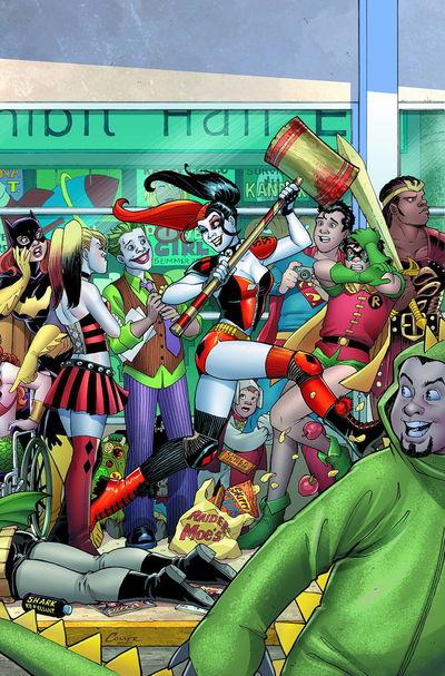 Harley Quinn Invades Comic Con Intl San Diego #1