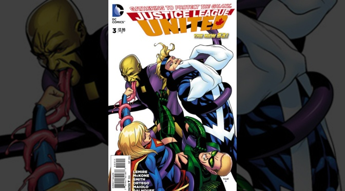Review: Justice League United #3