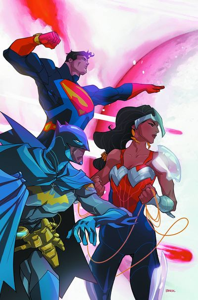 Superman-Wonder Woman 10 Batman 75 variant