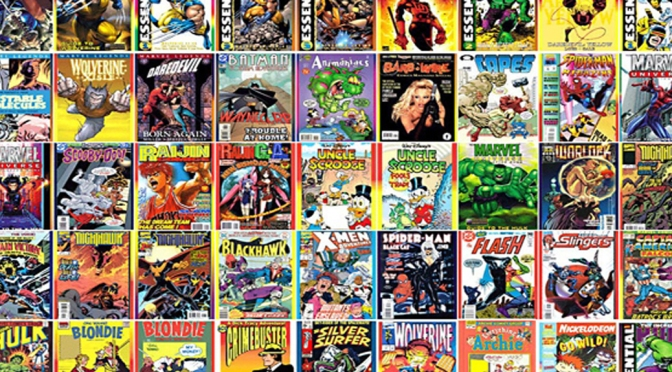 Comics Montage - Featured