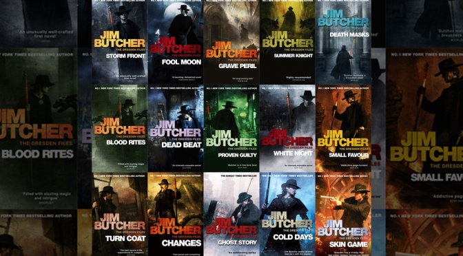Books Without Panels: The Dresden Files
