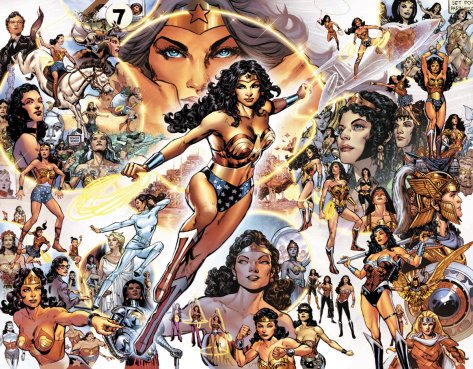 Sensational Comics Wonder Woman 1