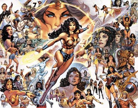 Sensational Comics Wonder Woman 1