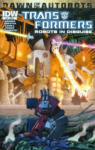 Transformers Robots in Disguise 32