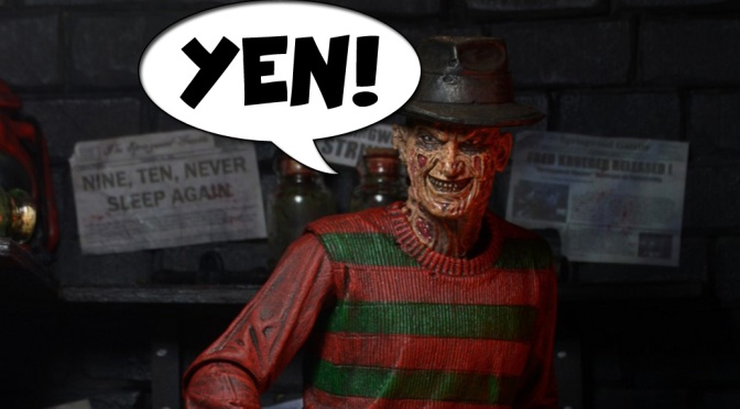 Geek YEN! – A Nightmare on Elm Street 30th Anniversary Ultimate Freddy Figure!