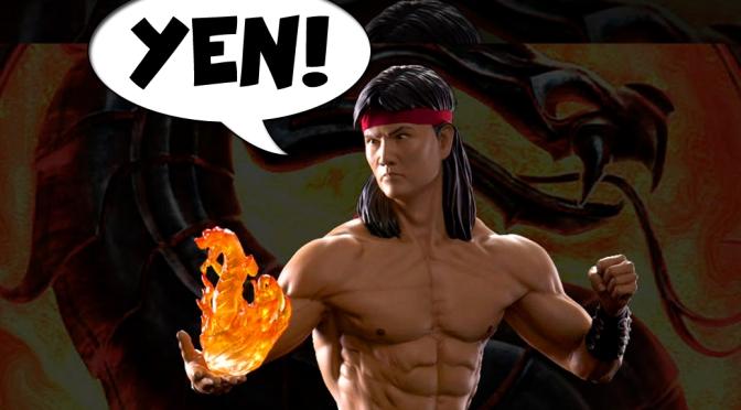 Geek YEN! – Mortal Kombat Liu Kang Statue