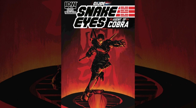 Snake Eyes Betrays G.I. JOE in New IDW Ongoing