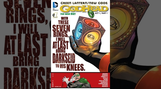 Review: Green Lantern/ New Gods: Godhead #1