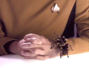 Miles O'Brien and Spider