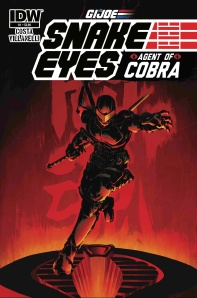 Snake Eyes Agent of Cobra #1