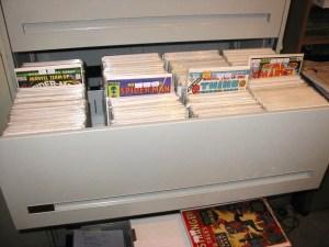 File Cabinet for Comics