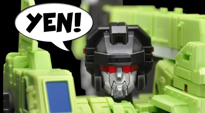 Geek YEN! – Make Toys 'Green Giant' Combiners