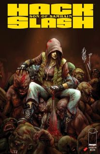 Hack Slash Son of Samhain #5 Cover