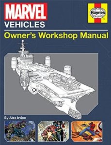 Marvel Vehicles Owner's Workshop Manual - Cover