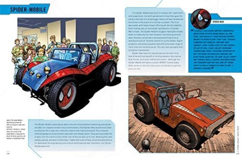 Marvel Vehicles Owner's Workshop Manual - Spider-Mobile Preview