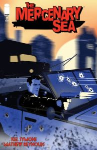 Mercenary Sea #7 Cover