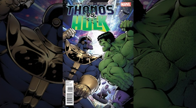 Preview: THANOS VS. HULK #1