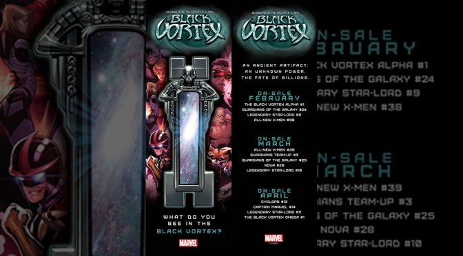 Marvel Announces Black Vortex Bookmark