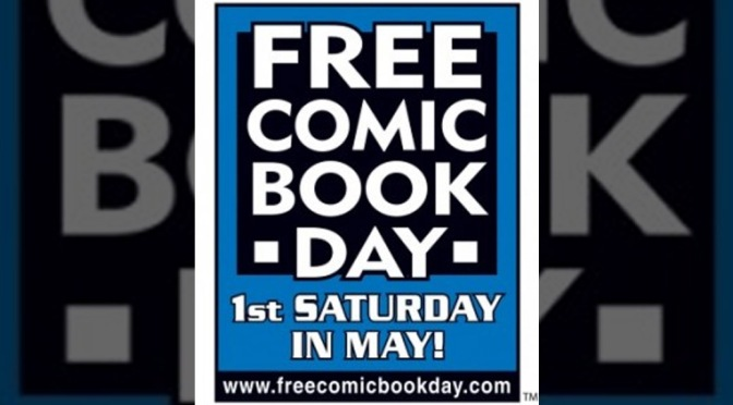 Celebrating FCBD at Comix City Too