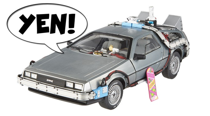 Geek YEN! – Hot Wheels Elite 'Back to the Future' Part II 1:18 Scale DeLorean