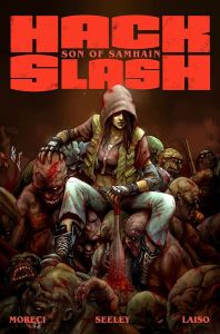 Hack Slash Son of Sanhaim volume 1 Cover