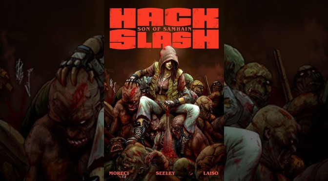Preview: HACK/SLASH: SON OF SAMHAIN Volume 1