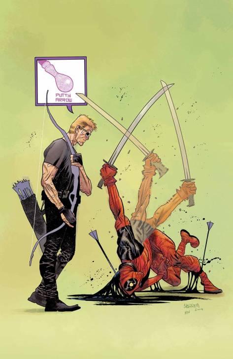 Hawkeye vs Deadpool #3