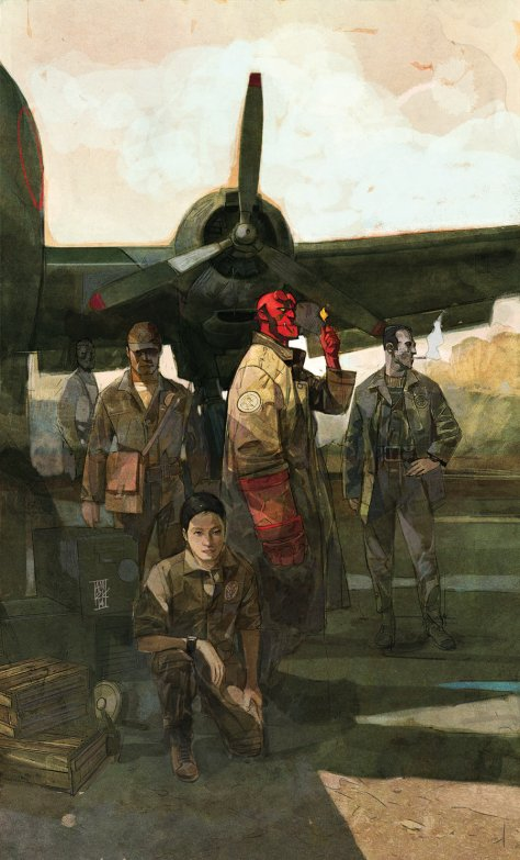 Hellboy and the BPRD #1