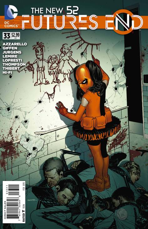 New 52 Futures End #33