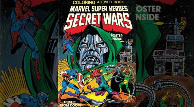Marvel Announces Secret Wars Activity Book