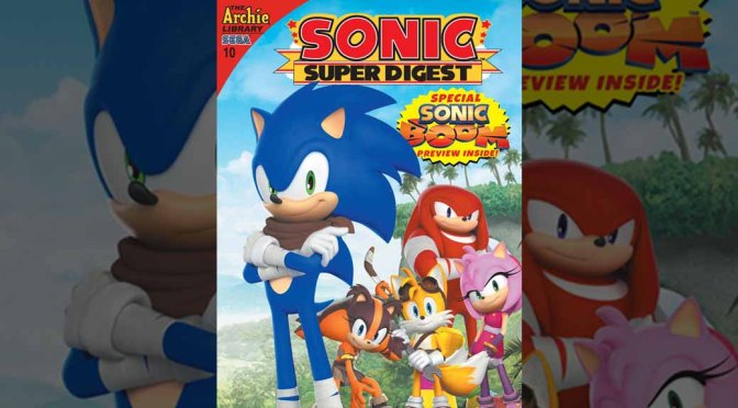 Preview: SONIC SUPER DIGEST #10