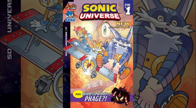 Preview: SONIC UNIVERSE #71