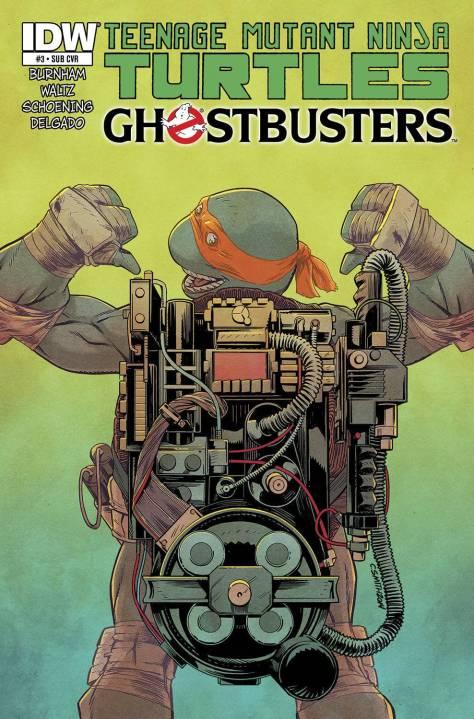 TMNT Ghostbusters #3