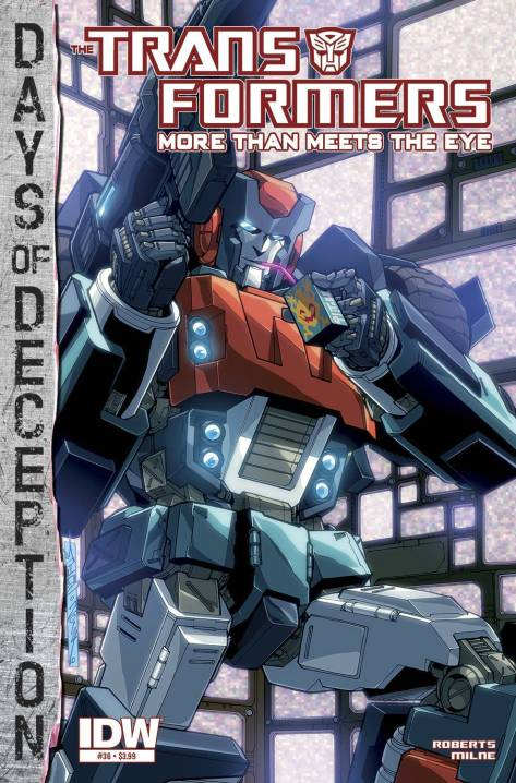 Transformers More Than Meets the Eye #36