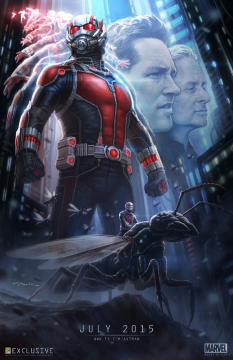 Ant-Man 2015 Movie Primary Poster