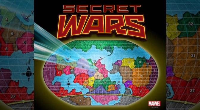 Marvel's 'Secret Wars' Interactive Battleworld Map Revealed