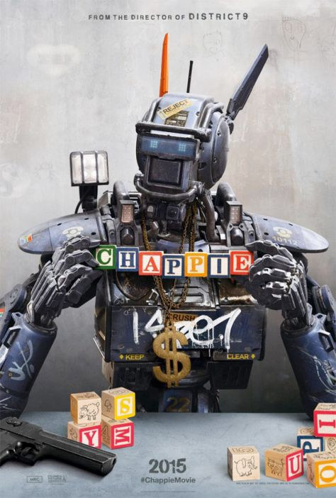 Chappie 2015 Movie Primary Poster