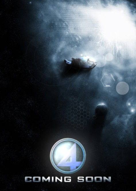 Fantastic Four 2015 Movie Primary Poster