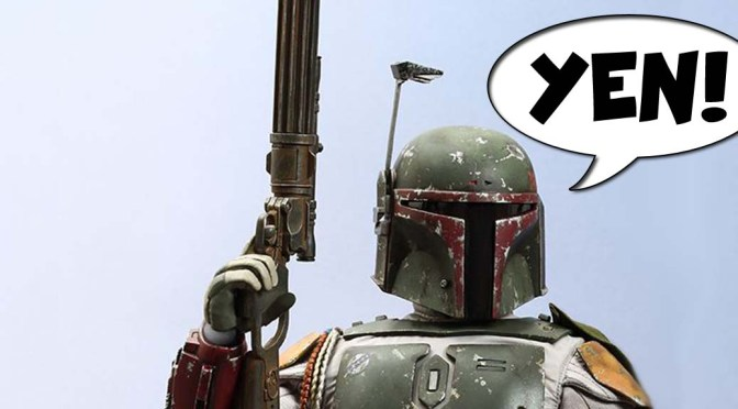 GEEK YEN! – Hot Toys 1/4 Scale Boba Fett Action Figure