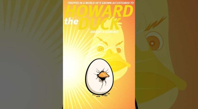 Howard the Duck #1 Variant Evolves