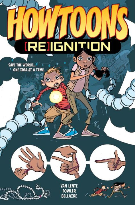 Howtoons ReIgnition vol 1 Cover